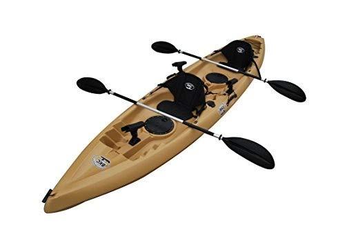 BKC TK181 12.5' Tandem Sit On Top Kayak W/ Seats,...