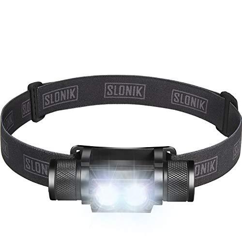 SLONIK 1000 Lumen Rechargeable CREE LED...