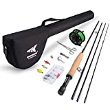 KastKing Emergence Fly Fishing Combo,4 Wt,8ft...