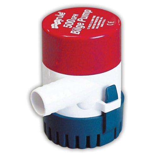 Rule 25D Submersible Bilge Pump, 500 Gallon...