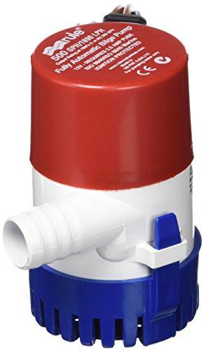 Rule 25S Submersible Bilge Pump, 500 Gallon...