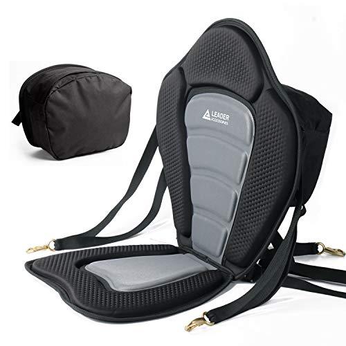 Leader Accessories Black/Gray Deluxe Kayak Seat...