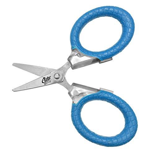 Cuda 3' Titanium Bonded Micro Scissor, Blue...