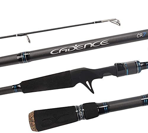 Cadence CR7B Baitcasting Rods Fast Action...