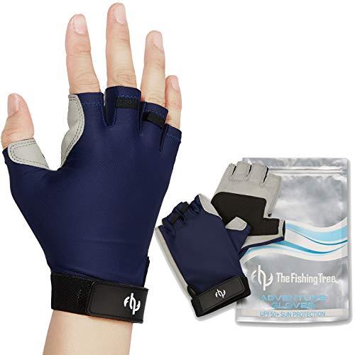 The Fishing Tree Fingerless Fishing Gloves,...