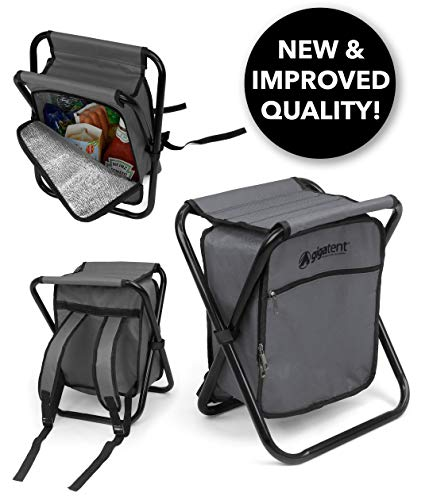 GigaTent Folding 3 in 1 Stool Backpack Folding...