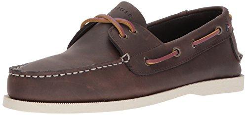 Tommy Hilfiger Men's Bowman Boat shoe,Coffee...