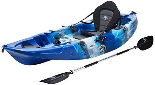 BKC UH-FK184 9'2' Sit on Top Single Fishing Kayak...