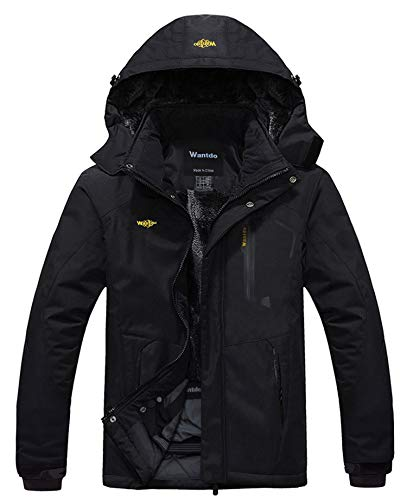 Wantdo Men's Waterproof Mountain Jacket...