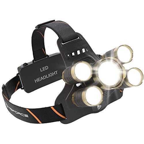 MsForce Ultimate LED Headlamp, Bright 1200...