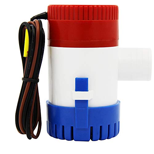 AURELIO TECH 12V Marine Electric Bilge Pump...