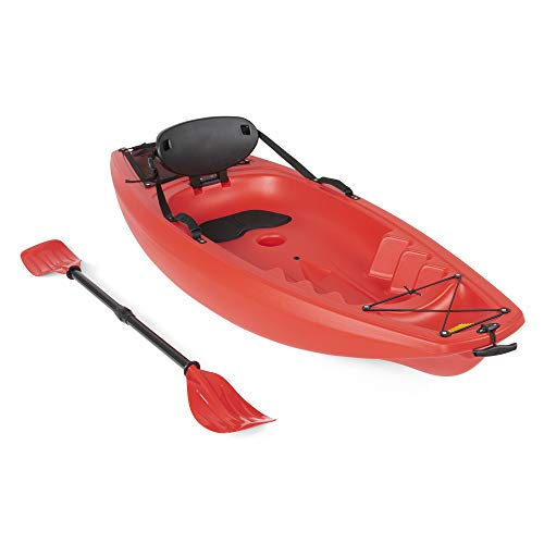 Best Choice Products 6ft Kids Kayak w/Paddle,...