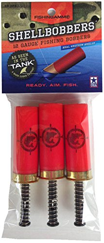 FishingAmmo Fishing Shell Bobber (3-Pack),...