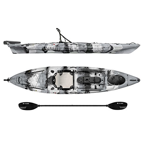 Vibe Kayaks Sea Ghost 130 | 13ft Angler -...