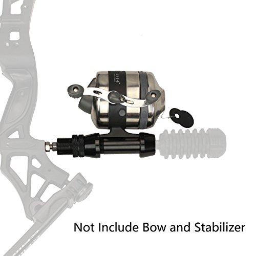 SinoArt Bowfishing Reel Seat Spincast Reel With...