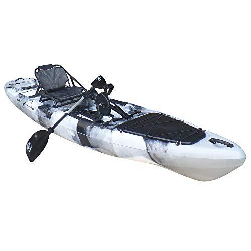 BKC PK13 13' Pedal Drive Fishing Kayak...