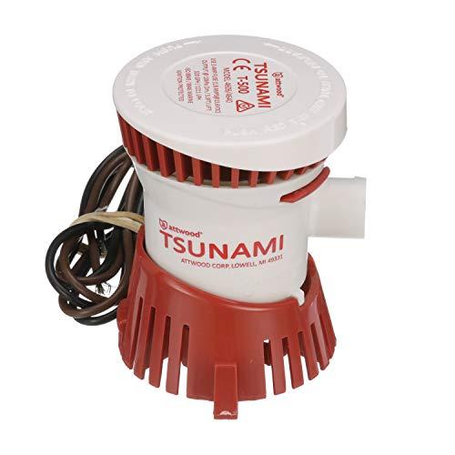 Attwood 4606-7 Tsunami T500 Bilge Pump, 500...