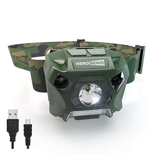 HeroBeam Fishing Headlamp – USB...