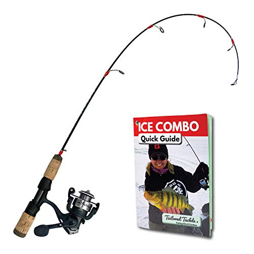 Tailored Tackle Ice Fishing Rod Reel Combo 28...