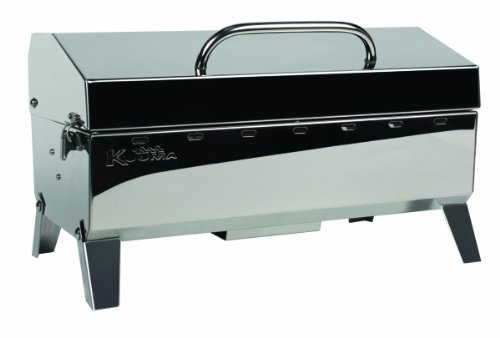 Kuuma Premium Stainless Steel Mountable Charcoal...