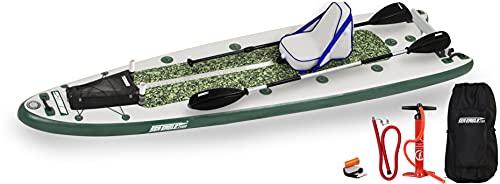 Sea Eagle FishSUP 126 Inflatable Fishing...