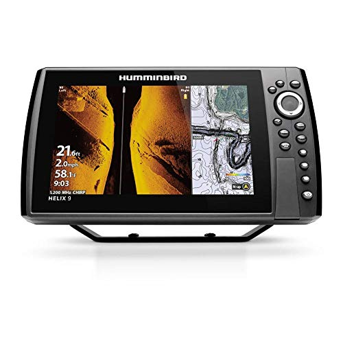 Humminbird Helix 10 G3N Fish Finder with Chirp,...