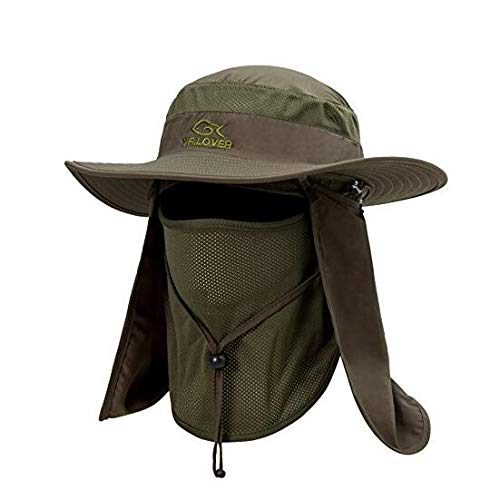 YR.Lover Outdoor UV Sun Protection Wide Brim...