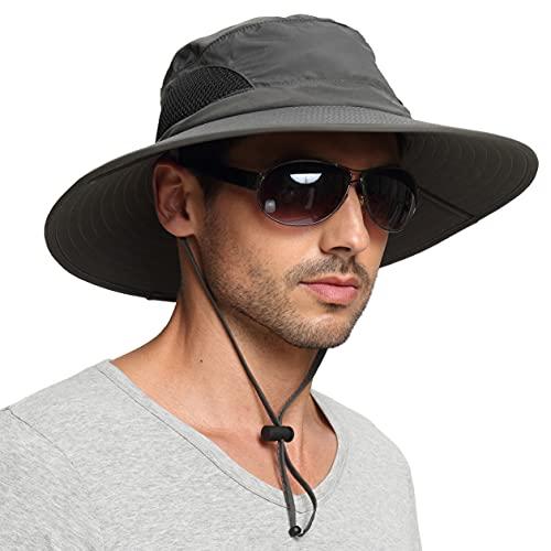 EINSKEY Men's Waterproof Sun Hat, Outdoor Sun...
