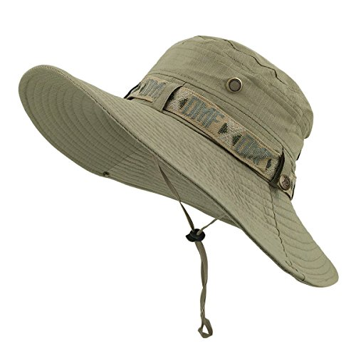 LETHMIK Fishing Sun Boonie Hat Waterproof...