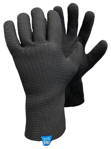 Glacier Glove ICE BAY Fishing Glove, Black,...