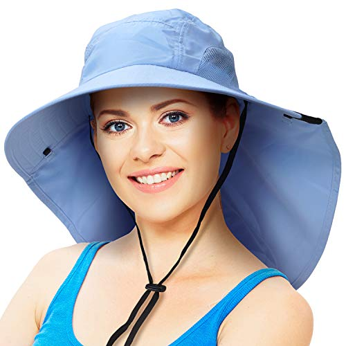 Sun Hat for Men with UV Protection Wide Brim...