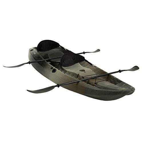 Lifetime Sport Fisher Tandem Kayak with...