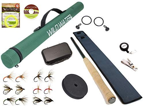 Wild Water Fly Fishing 12' Tenkara Fly Rod...