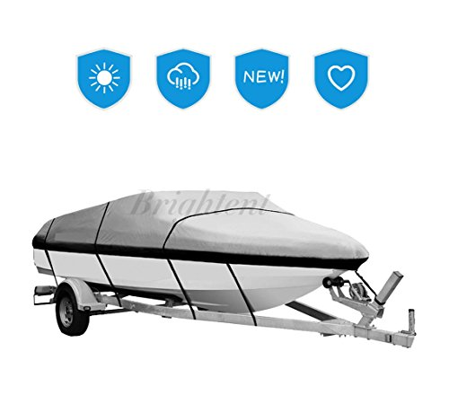 Brightent Boat Cover Heavy Duty 600D Three Sizes...