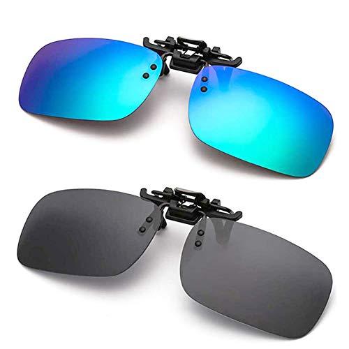 Polarized Clip-on Sunglasses Anti-Glare for...