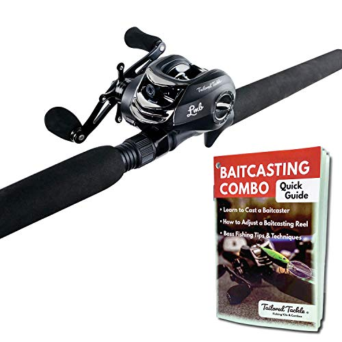 Tailored Tackle Bass Fishing Rod and Reel Right...