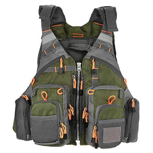 Lixada Fly Fishing Vest with Breathable Mesh...