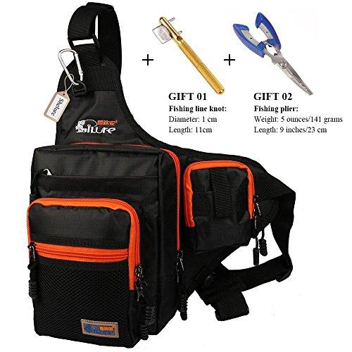 Anglerbasics Shoulder Bag Fishing Tackle Bag...