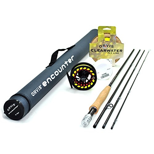 Orvis Encounter 5-Weight 8'6' Fly Rod Outfit...
