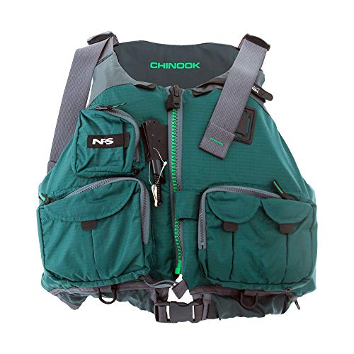 NRS Adult Chinook Fishing Boating PFD Large/...