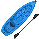 Lifetime Lotus Sit-On-Top Kayak with Paddle,...