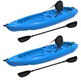 Lifetime Lotus Sit-On-Top Kayak with Paddle,...
