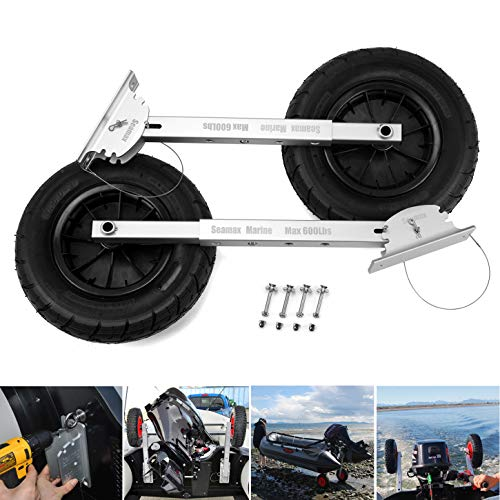 Seamax New Deluxe 4 by 4 Boat Launching Dolly...