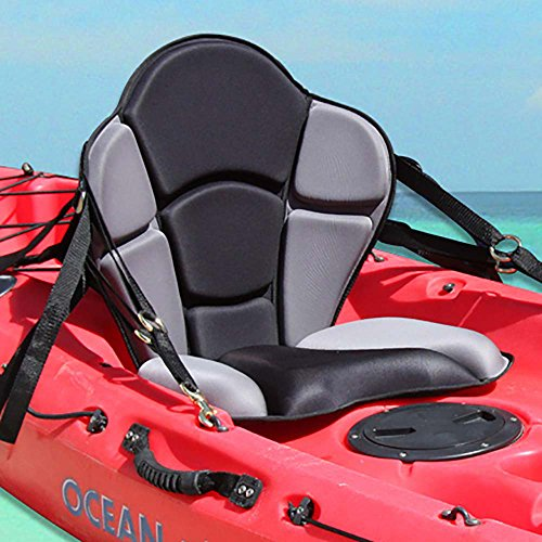GTS Expedition Molded Foam Kayak Seat - No Pack
