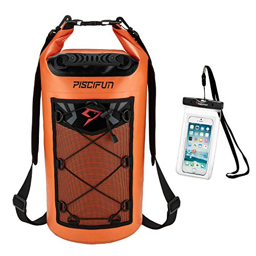 Piscifun Waterproof Dry Bag Backpack 20L...