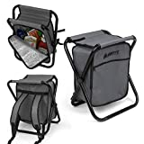 GigaTent Folding 3 in 1 Stool Backpack...