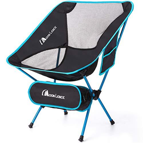 MOON LENCE Ultralight Folding Camping Chairs Beach...