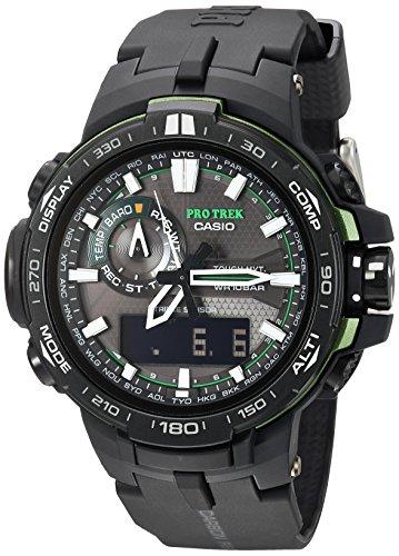 Casio Pro Trek Quartz Watch with Resin Strap,...