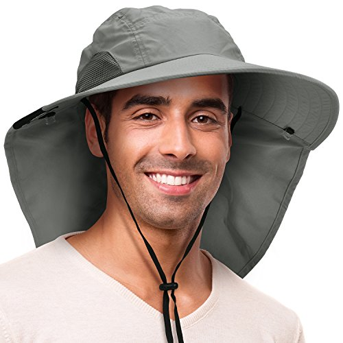 Solaris Outdoor Fishing Hat with Ear Neck Flap...