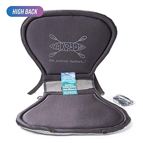 Yakpads High Back Cushioned Seat Pad, Gel Seat Pad...
